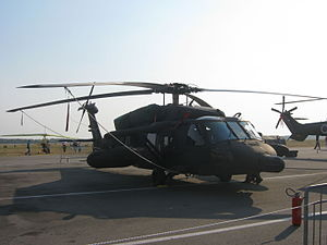 2015 Colombia helicopter crash - A UH-60 Black Hawk, similar to the helicopter involved in the crash