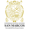 UNMSM escudo XVI-XXI transparente nombre vertical.png