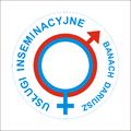 USŁUGI INSEMINACYJNE - Nowa Ruda - Dariusz Banach (logo 2011) - Henryk Jan Dominiak artysta rzeźbiarz, grafik, malarz, złotnik, artystyczna reklama Tychy, Żwakowska.png