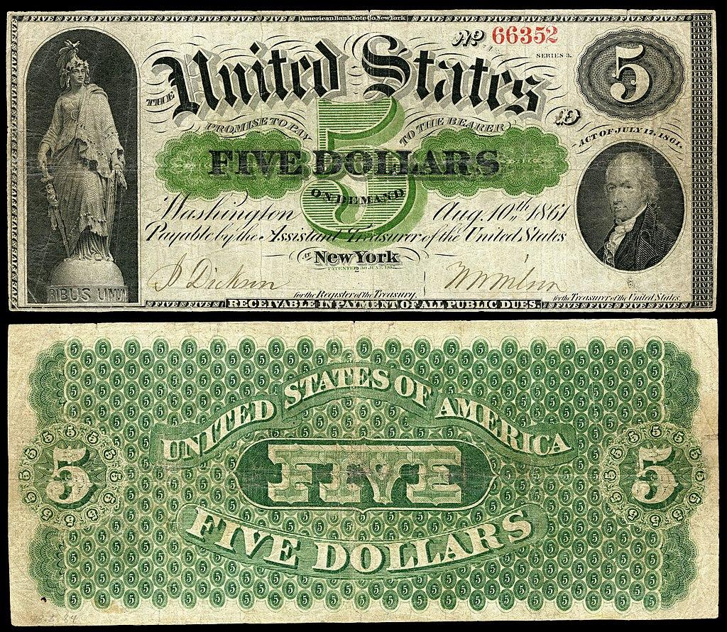 $5 Demand Note