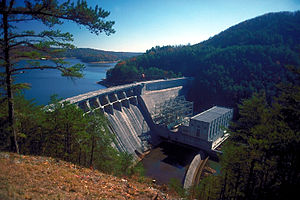 Lake Allatoona - Allatoona Dam and Lake