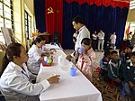 USAID supports deworming medication for school children in Sa Pa district of Lao Cai province (14033830177).jpg