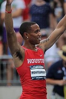 Kahmari Montgomery American sprinter