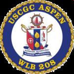 USCGC ASPEN (WLB 208) COA