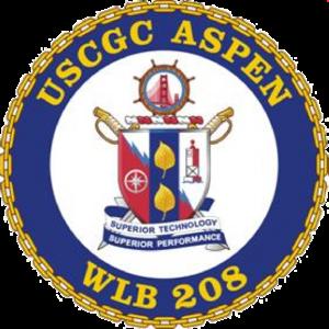 USCGC Aspen (WLB-208) - Image: USCGC ASPEN (WLB 208) COA