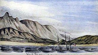 USS Dale (1839) - USS Dale off coast of Jose del Cabo Mexico