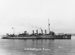 USS <i>Evans</i> (DD-78)