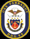 USS Farragut DDG-99 Crest.png