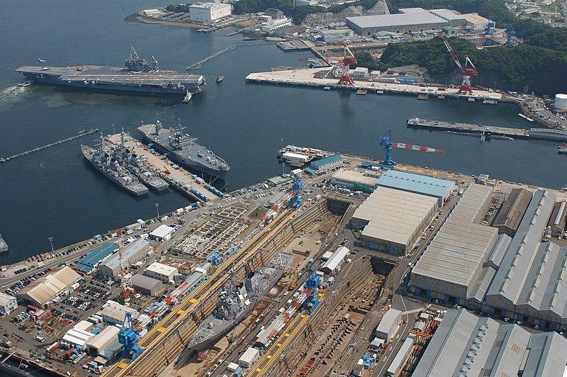 USS Kitty Hawk at Yokosuka.jpg