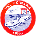 USS Okinawa (LPH-3) insignia, 1962.png