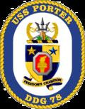 USS Porter DDG-78 Crest.png