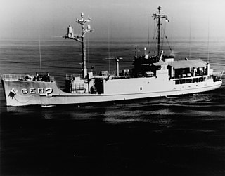 class of three environmental research ships converted from Camano-class cargo ships by the United States Navy during the 1960s