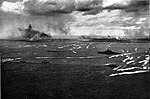 USS Tennessee (BB-43) and invasion fleet off Iwo Jima 1945.jpg