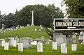 US Navy 030617-N-9593R-075 Arlington Mansion and 200 acres of ground immediately surrounding it were officially designated as a military cemetery June 15, 1864, by Secretary of War Edwin M. Stanton.jpg