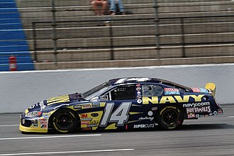 Casey Atwood - 2004 Busch Series car at Lowe's Motor Speedway (now Charlotte Motor Speedway)
