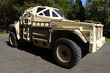 US Navy 050907-N-7676W-011 The Ultra Armored Patrol Vehicle is a research project funded by the Office of Naval Research (ONR), at the Georgia Technology Research Institute.jpg