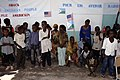 US Navy 071112-F-0509T-248 School children give a performance to dignitaries during a Key Leadership Engagement visit to view Combined Joint Task Force-Horn of Africa projects.jpg