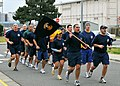 US Navy 100317-N-2013O-003 Members of the Far East Chief Petty Officer (CPO) Mess participate in the group's monthly CPO Pride Run at Commander, Fleet Activities Yokosuka.jpg