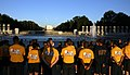US Navy 100911-N-2888Q-001 Chief petty officers and chief petty officer selectees pause at the National World War II Memorial during a Navy heritag.jpg