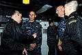US Navy 110330-N-IC111-031 Vice Adm. Scott Van Buskirk, commander of U.S. 7th Fleet, speaks with members of the Japan Maritime Self-Defense Force a.jpg