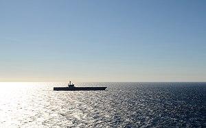 US Navy 120131-N-YM590-034 USS George H.W. Bush is underway in the Atlantic Ocean.jpg