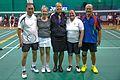 US Senior International Badminton Tourney (Miami) - XD55 Finals - Gary & Mary Ann def Paisan & Terry 21-16, 12-21 & 21-9 (16442448667).jpg