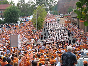 English: UT Pride of the Southland Marching Ba...