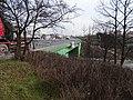U hostivařského nádraží, most přes Průmyslovou.jpg