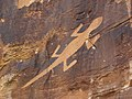 Uinta Fremont Indian petroglyph (~1000 years old) (Dinosaur National Monument, Utah, USA) 54 (22954590855).jpg