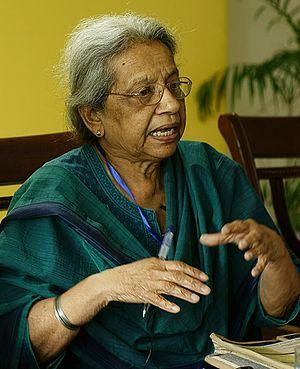 Uma Chakravarti - Uma Chakravarti - May 2015