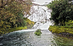 Pravara River - Umbrella falls on Pravara river