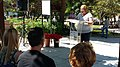 Un parque de Ciudad Lineal homenajea a periodistas asesinados en conflictos armados 03.jpg