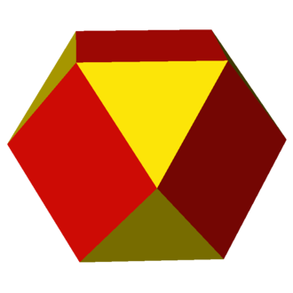 Cubic-octahedral honeycomb - Image: Uniform polyhedron 43 t 1