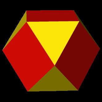 Quasiregular polyhedron - Image: Uniform polyhedron 43 t 1