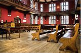 The Oxford Union debating chamber