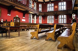 Oxford Union - The Debate Chamber