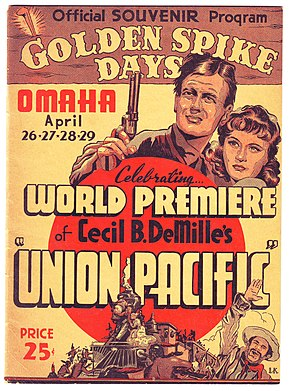 Description de l'image Union Pacific World Premiere 1939.jpg.