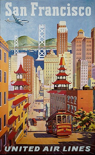 California Street (San Francisco) - Image: United San Francisco Poster (19482269271)