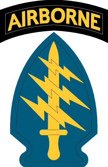 United States Army Special Forces SSI (1958-2015)