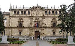Original building, Alcalá de Henares: The Complutense University was based here until 1836.