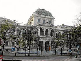 Το Πανεπιστήμιο της Βιέννης, όπου πραγματοποίησε σπουδές ιατρικής ο Σίγκμουντ Φρόυντ.