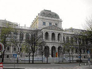 Viyana Üniversitesi, Merkez Binası