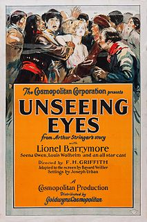 <i>Unseeing Eyes</i> 1923 film by Edward H. Griffith