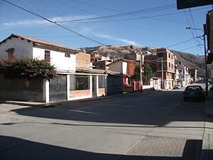 Huaraz - Modern neighbourhoods were built after 1970's earthquake