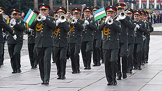 Band of the Ministry of Defense of the Republic of Uzbekistan