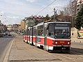 Výluka Zenklova, Vychovatelna, Tatra KT8D5, dc.jpg