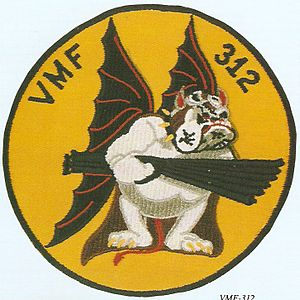 VMFA-312 - Squadron logo during World War II when they were VMF-312