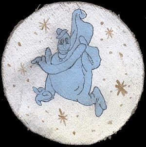 VMGR-352 - Squadron logo designed by Disney during WWII when they were VMJ/VMR-352