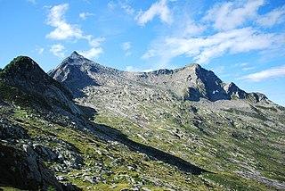 Pizzo Paglia mountain in Switzerland