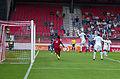 Valais Cup 2013 - OM-FC Porto 13-07-2013 - Défense devant le but.jpg